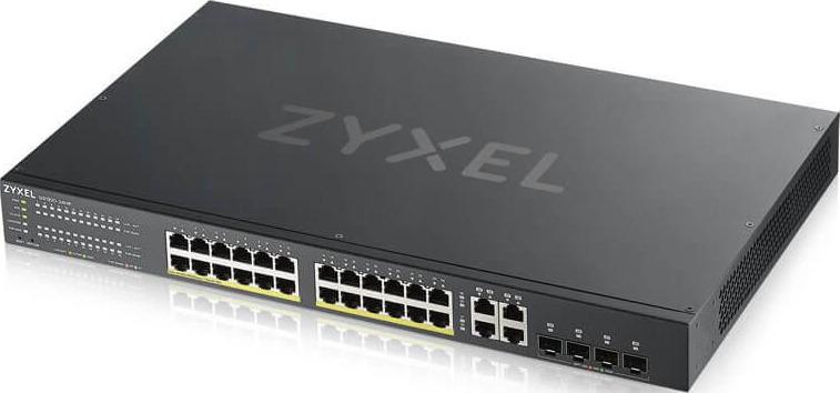 Коммутатор Zyxel NebulaFlex, управляемый, GS192024HPV2-EU0101F zyxel gs1920 24hp