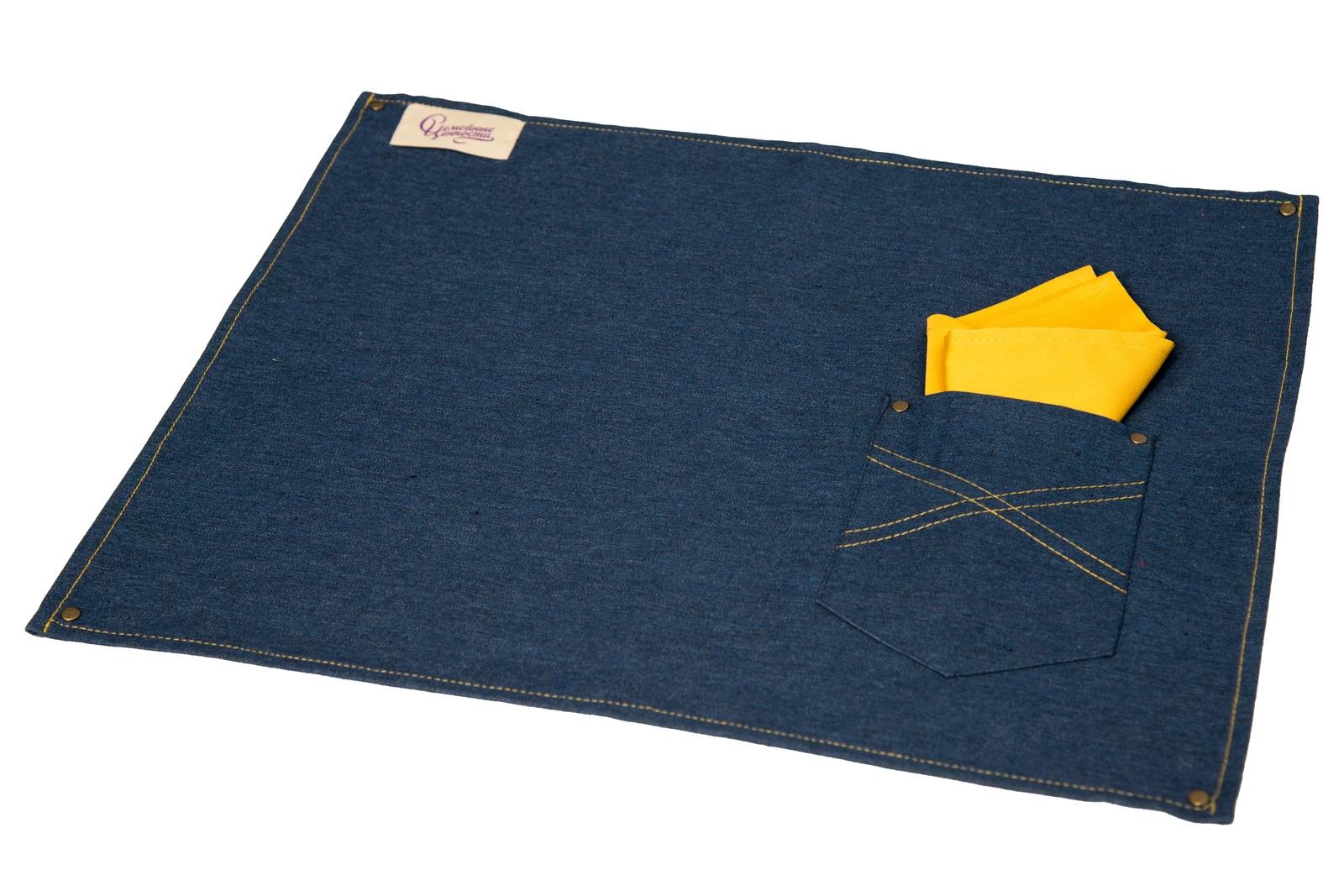 Сет сервировочный Семейные ценности с желтой салфеткой СЕ2015/2-1, синий сет дикинсон бару корморан предательница