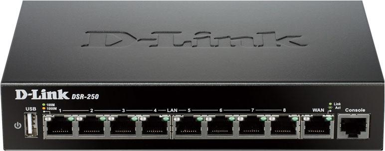 Сетевой экран D-Link DSR-250