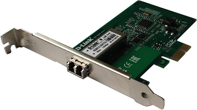 Сетевой адаптер D-Link Gigabit Ethernet DGE-560SX сетевой адаптер wifi asus pce ac55bt pci express