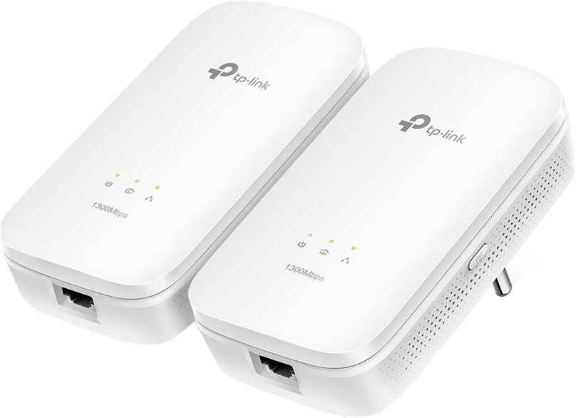 Сетевой AV адаптер TP-Link HomePlug TL-PA8010KIT, 2 шт сетевой av адаптер tp link homeplug tl pa7010pkit