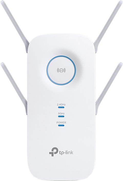 Повторитель беспроводного сигнала TP-Link AC2600, RE650, белый усилитель сигнала tp link re650 ac2600 двухдиапазонный усилитель беспроводного сигнала