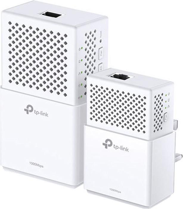 Сетевой AV адаптер TP-Link HomePlug, TL-WPA7510KIT, 2 шт tp link ue300 сетевой адаптер