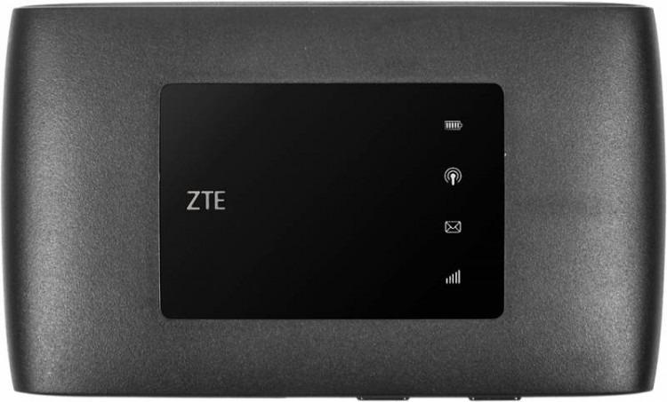 USB-модем ZTE MF920T1 + роутер, MF920, черный zte mf833r черный