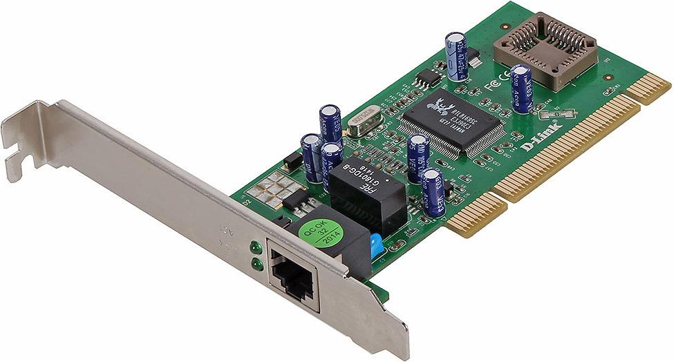 Сетевой адаптер D-Link Gigabit Ethernet DGE-530T, DGE-530T/D2 сетевой адаптер tp link ue300 usb 3 0 gigabit ethernet