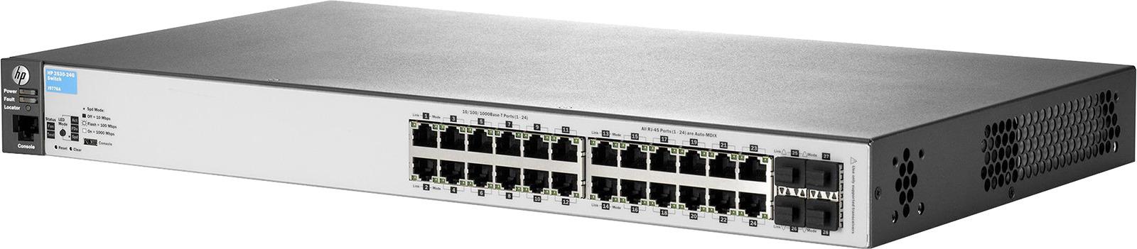 Коммутатор HPE 2530, управляемый, J9776A цены
