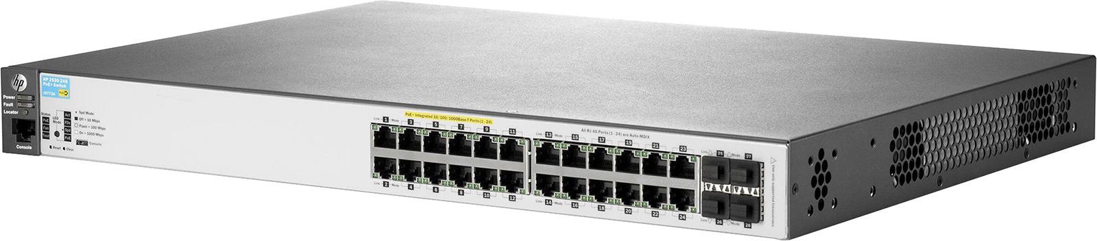 Коммутатор HPE 2530, управляемый, J9773A цены