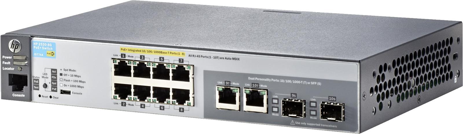 Коммутатор HPE 2530, управляемый, J9774A коммутатор hpe aruba 2530 j9774a