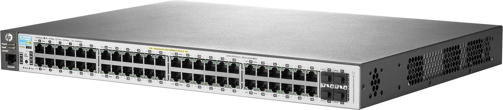 Коммутатор HPE 2530, управляемый, J9772A коммутатор upvel up 215sge 5 портовый гигабитный каскадируемый poe коммутатор 5 портов 10 100 1000 мбит с 4 порта poe каждый poe порт обеспечивае