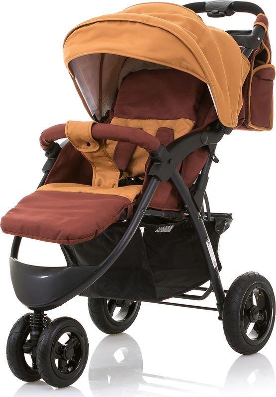Коляска прогулочная BabyHit Voyage Air, цвет: коричневый коляска прогулочная babyhit voyage air бежевый voyage air beige