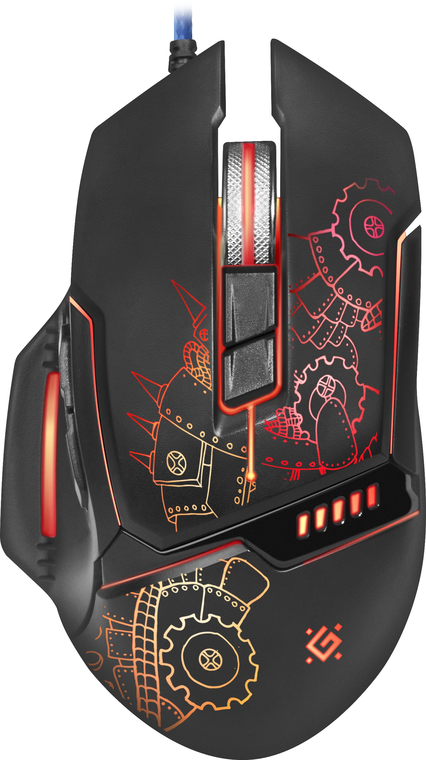 Игровая мышь Defender Killem All GM-480L