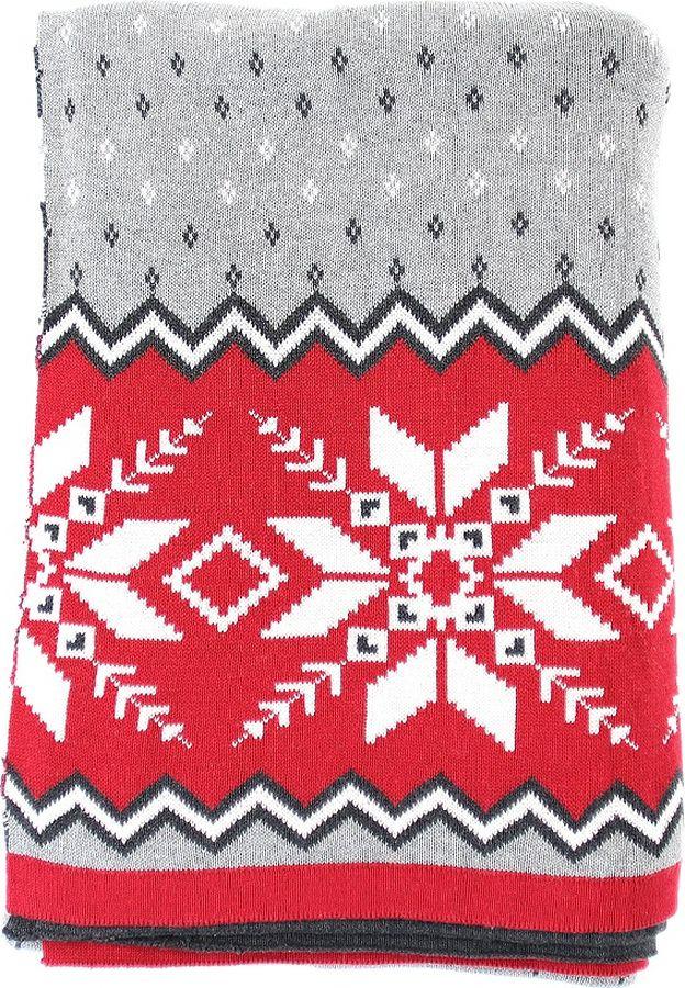 Плед EnjoyMe Christmas Story, с орнаментом, en_ny0058, 130 х 180 см плед enjoyme silver snow en ny0055 130 х 180 см