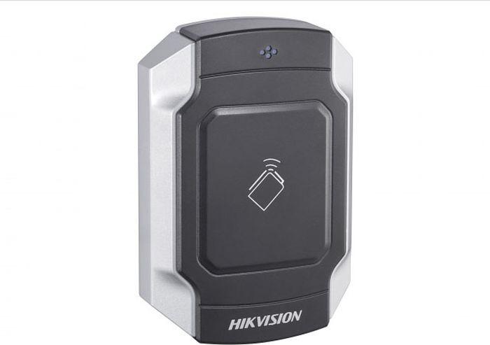 Считыватель карт Hikvision DS-K1104M, уличный, темно серый, стальной