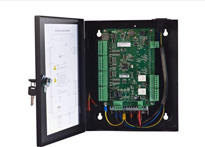 Контроллер сетевой Hikvision DS-K2802, черный цена и фото
