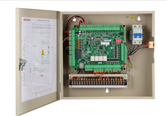 Контроллер автономный Hikvision DS-K2604, бежевый цена и фото