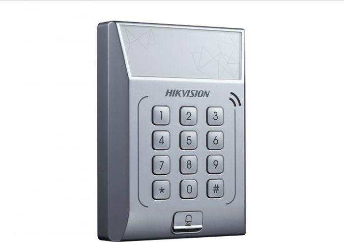 Терминал доступа Hikvision DS-K1T801E, стальной терминал доступа hikvision ds k1t801m стальной