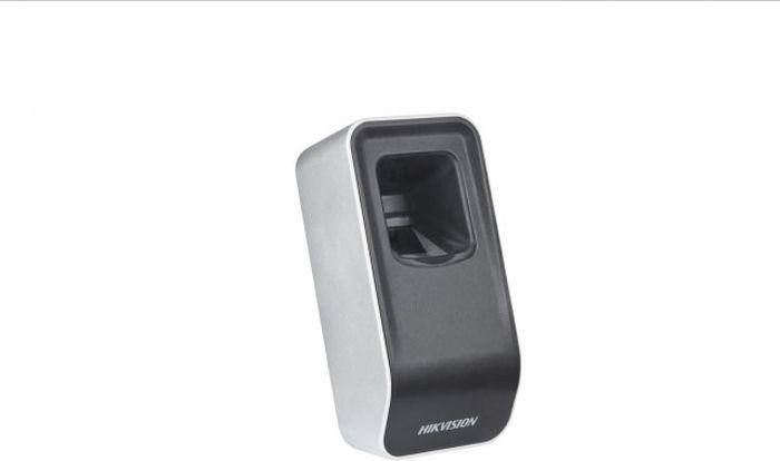 Считыватель карт Hikvision DS-K1F820-F, черный терминал доступа hikvision ds k1t801m стальной