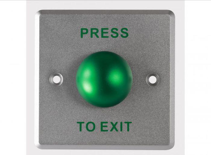 Кнопка выхода Hikvision, DS-K7P06, стальной