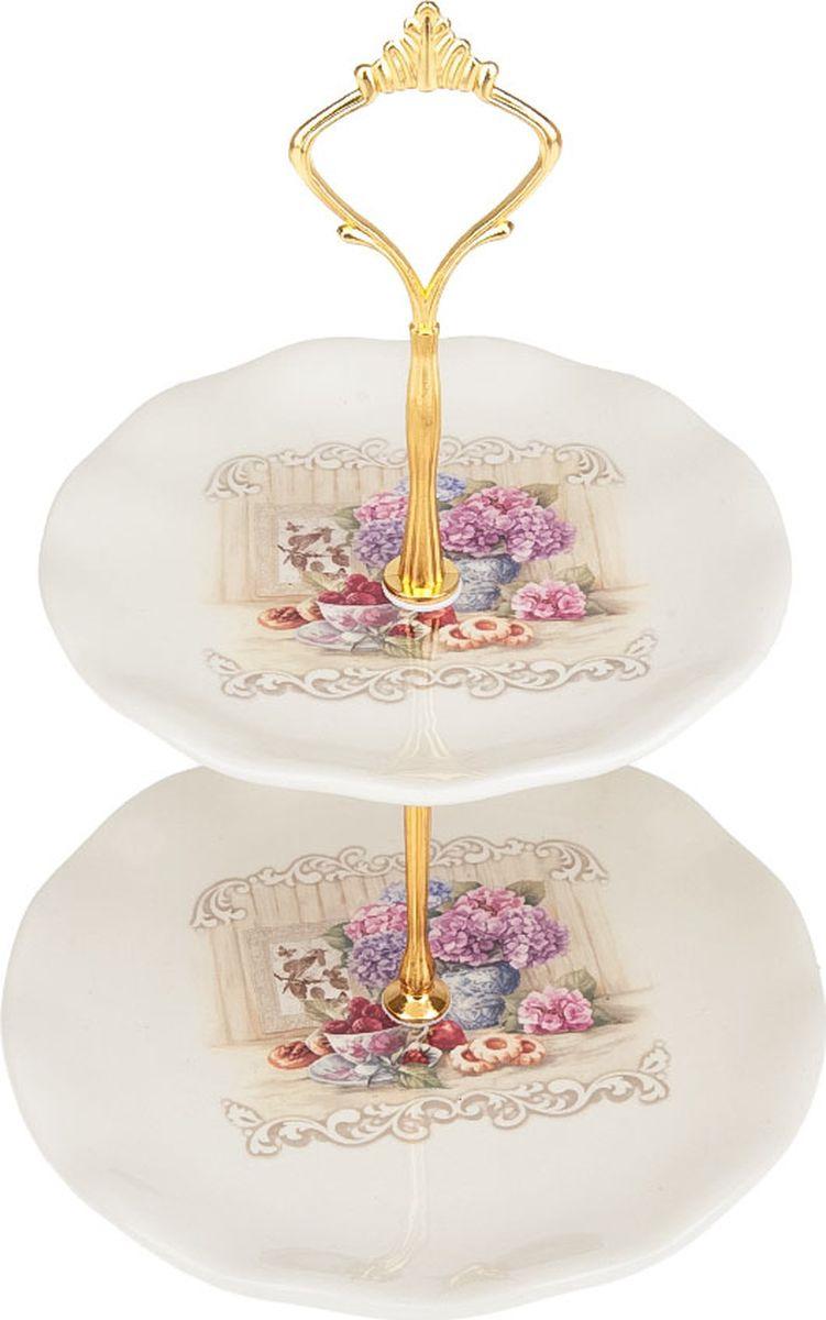 Фруктовница Polystar Collection Sweet Home, L2430851, белый, 18,5 х 14,5 х 26 см лимонница polystar collection sweet home 11 5 см