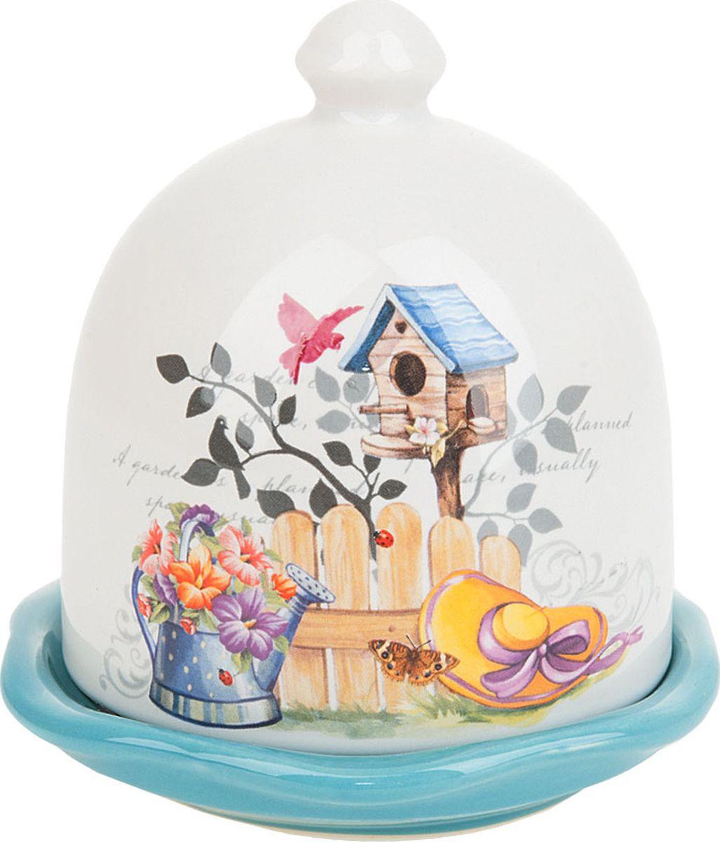 Лимонница Nouvelle De France Сад, 660068, белый, 11 х 11 х 11,5 см660068Керамическая лимонница прекрасно подойдет для вашей кухни.Станет отличным подарком для ваших друзей и близких Рекомендуем!