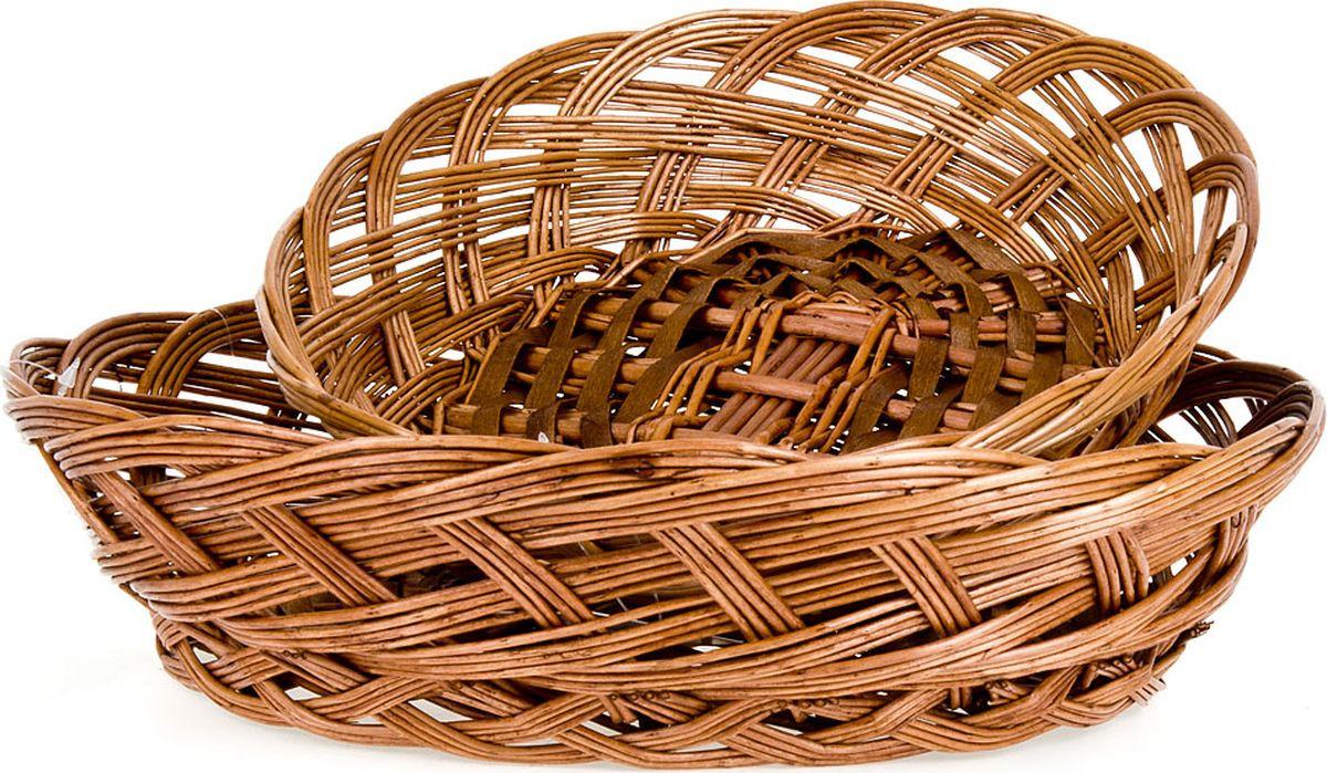 Набор корзинок ENS Group, 7931002, темно-коричневый, 2 шт чайный набор ens group радуга 13 предметов