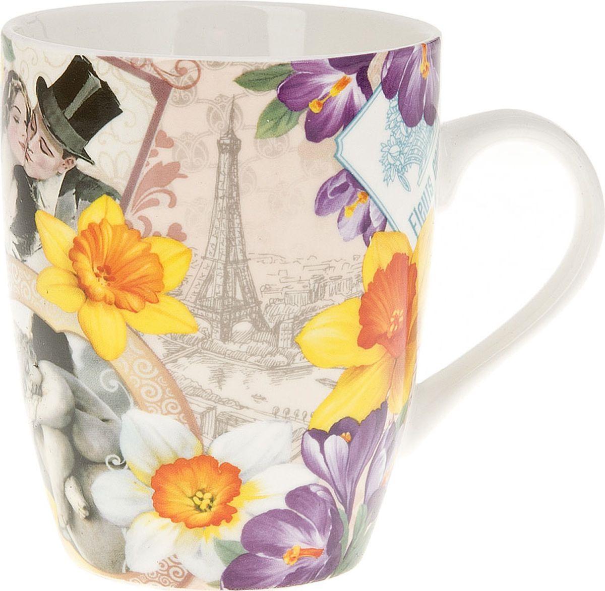 Кружка Nouvelle De France Весна в Париже, M0661028, бежевый, 320 мл кружка nouvelle de france ирис с