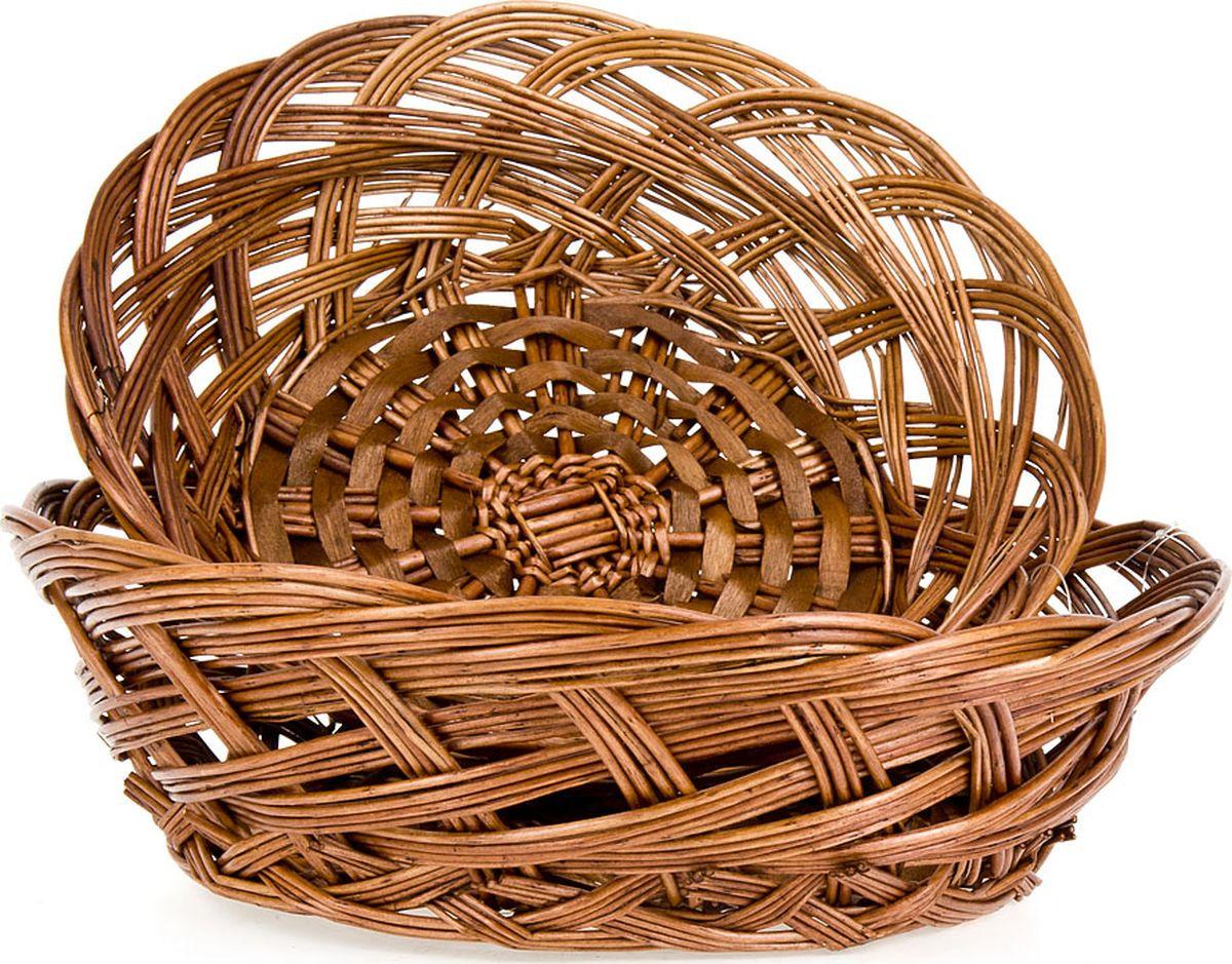 Набор корзинок ENS Group, 7931001, темно-коричневый, 2 шт чайный набор ens group радуга 13 предметов