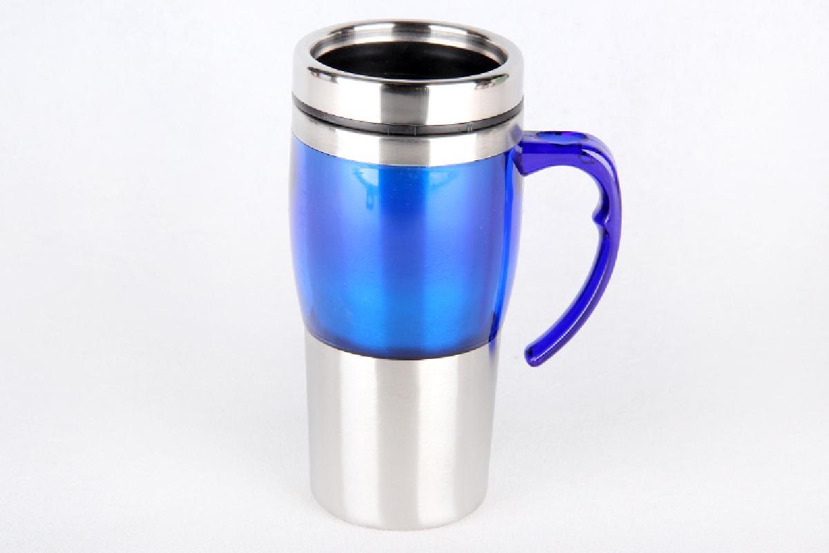 Термокружка Коралл, 967966, синий, 450 мл