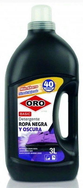 Гель для стирки ORO, 1435400/130059, для черного белья, 3 л гель для стирки oro 1391400 007184 для цветного белья