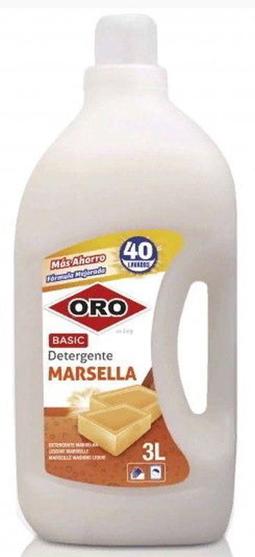 Гель для стирки ORO, 1365402/007160, на основе марсельского мыла, 3 л
