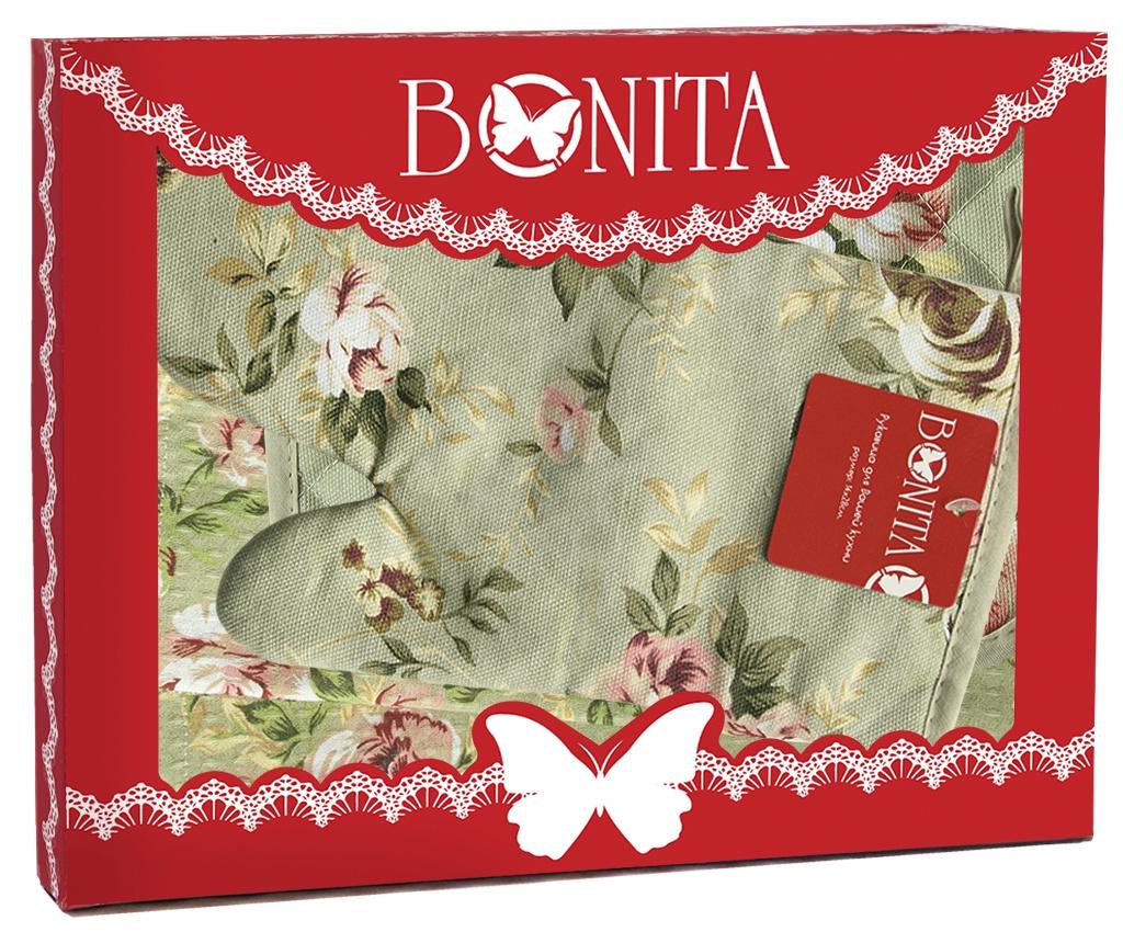 Подарочный набор Bonita Английская коллекция, 11010817094, зеленый, красный