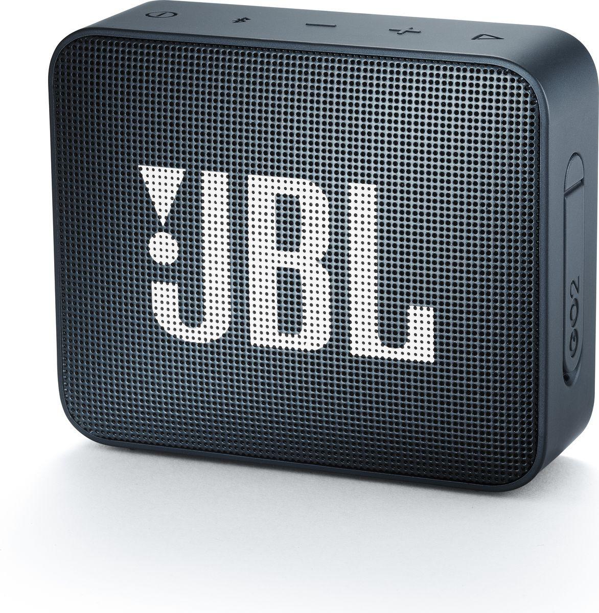 Беспроводная колонка JBL Go 2, Black Metallic
