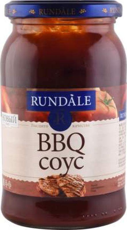 Соус томатный Rundale BBQ, 400 г4750211446017Ничего лишнего ! Только натуральные ингредиенты. Свежий, приятный, с нежным вкусом и ароматом дыма. Соус предусмотрен как добавка к блюдам для мяса и рыбы. Также можно использовать для приготовления блюд. В составе соуса соевый соус, натуральный ароматизатор дыма.