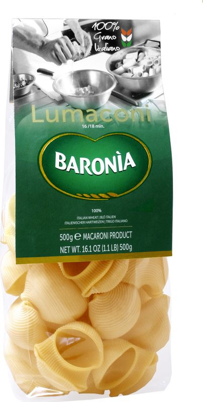 Макароны Baronia Лумакони Гиганти, 500 г
