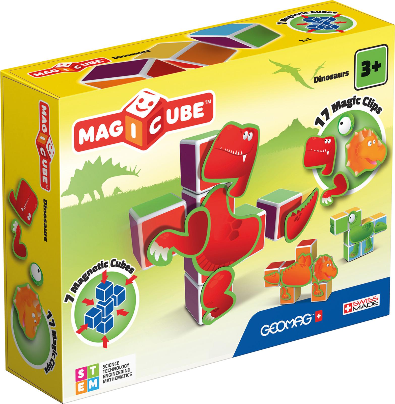 купить Конструктор магнитный Geomag MagiCube, 141, 24 элемента онлайн
