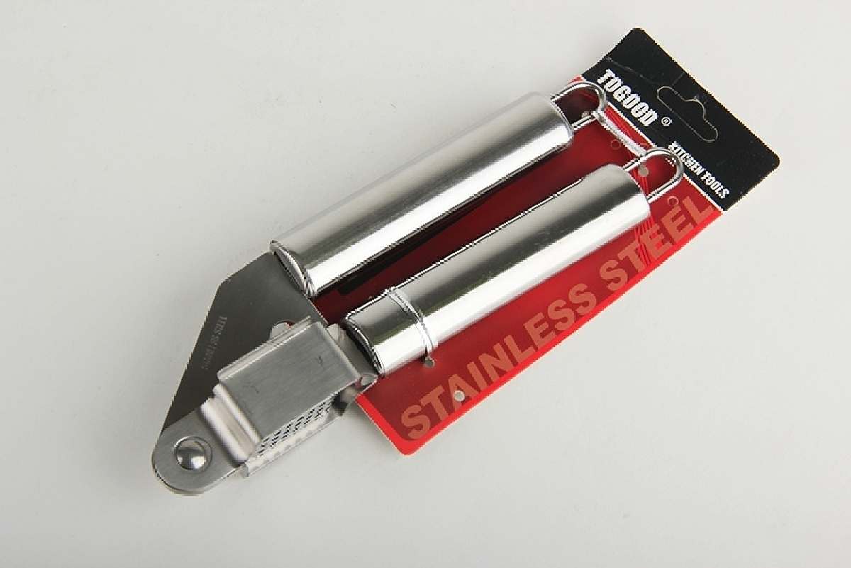 Пресс для чеснока Коралл, 938956, стальной, 19 см