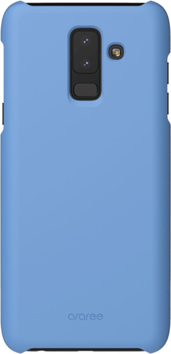 Чехол-накладка Araree для Samsung Galaxy A6+ (2018), GP-A605KDCPBIC, синий