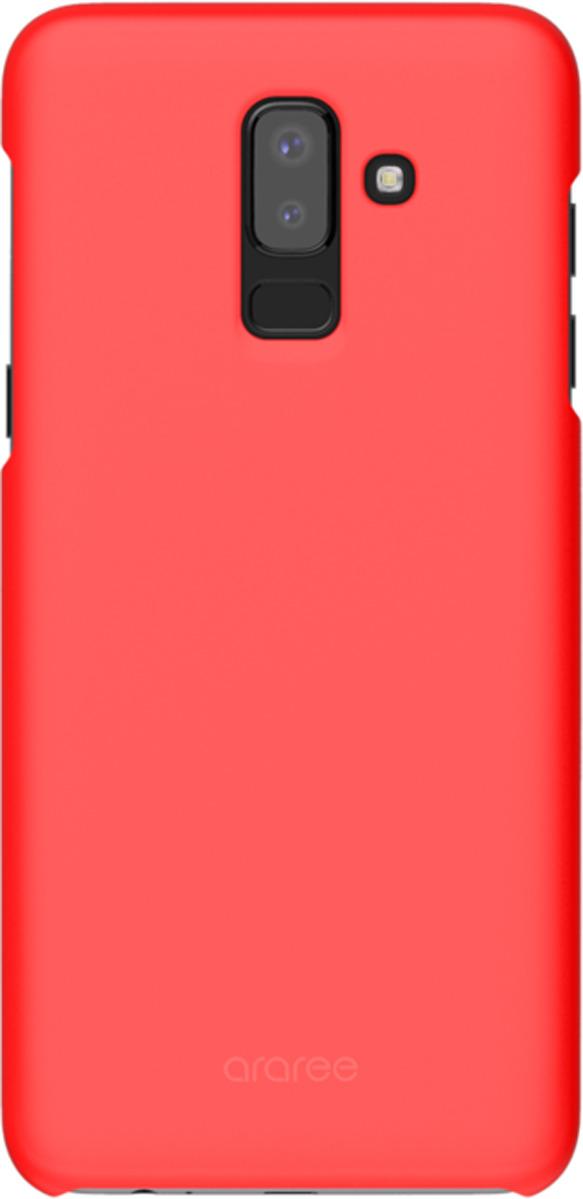 Чехол-накладка Araree для Samsung Galaxy J8 (2018), GP-J810KDCPBIB, красный