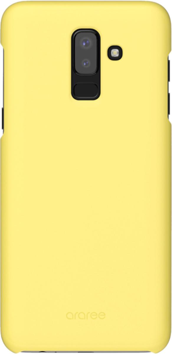 Чехол-накладка Araree для Samsung Galaxy J8 (2018), GP-J810KDCPBIC, желтый