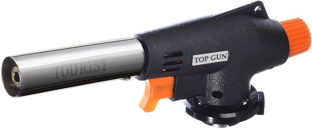 Горелка-насадка газовая портативная TOP GUN с пьезоподжигом
