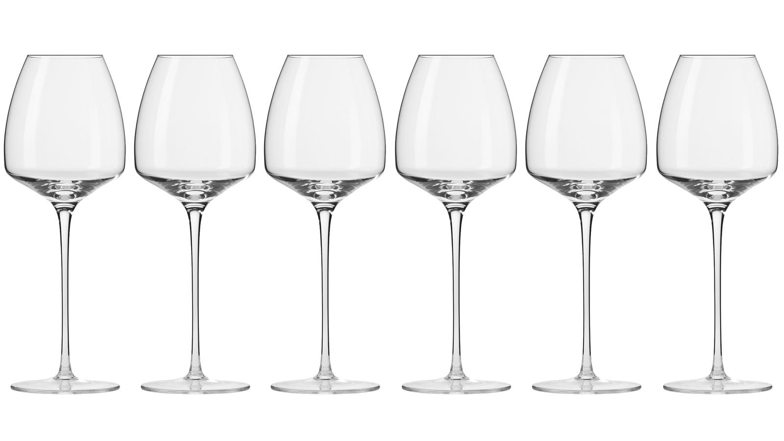 Бокал Krosno Бокалы для вина, прозрачный графин krosno