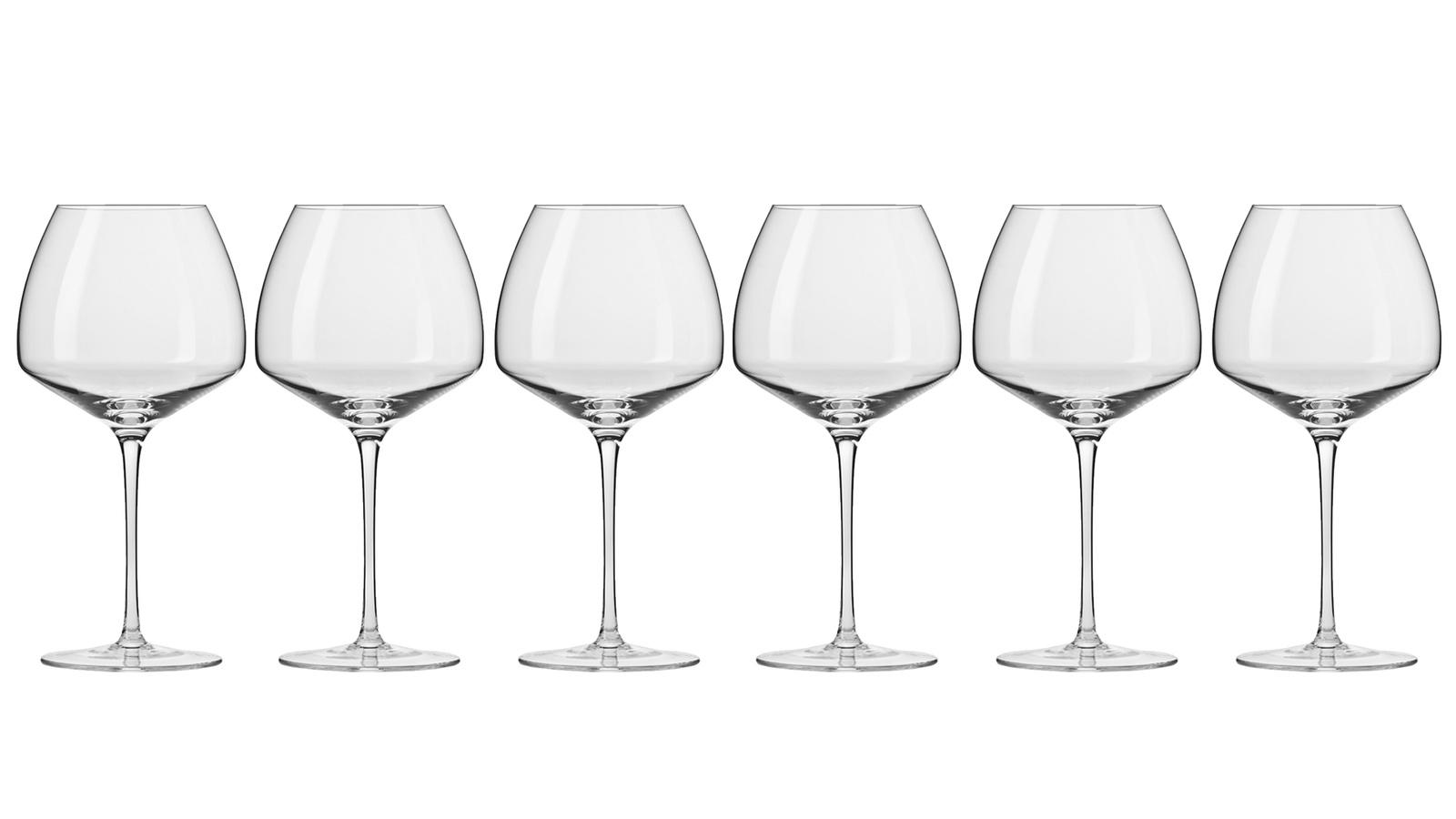 Фото - Бокал Krosno Набор бокалов для вина, прозрачный бокал krosno набор бокалов для вина прозрачный