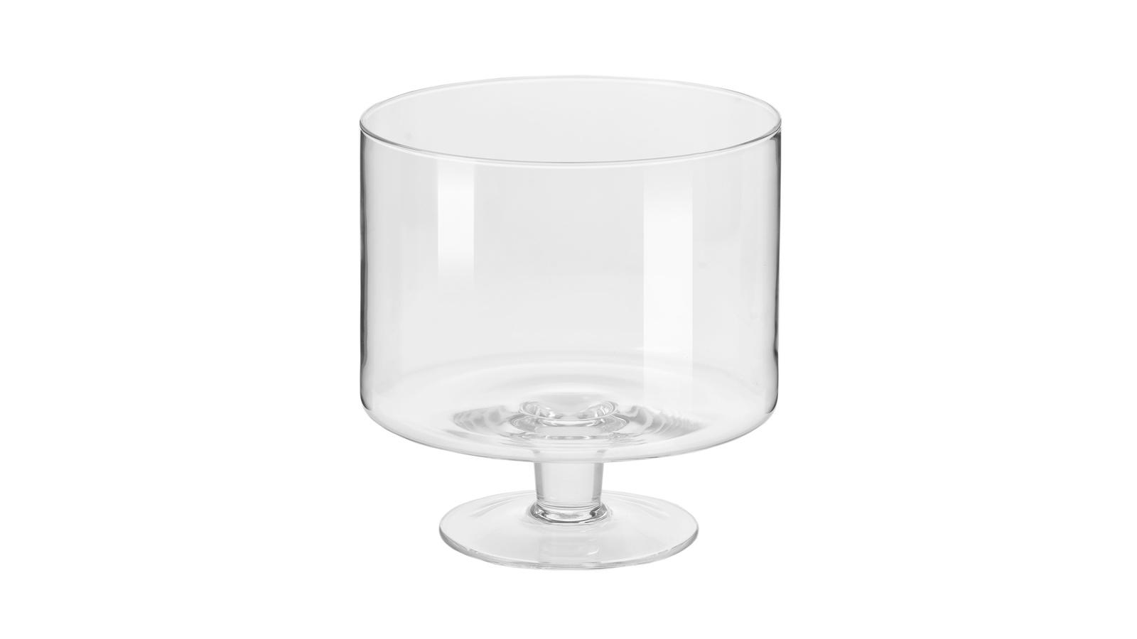 Чаша Krosno Гламур на ножке для десерта, KRO-FPA1558019508010, 19,5 см графин krosno