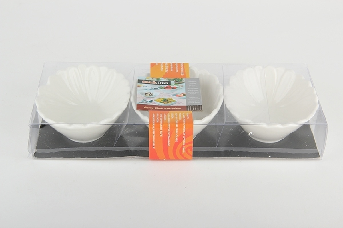 Набор салатников Коралл, 944978, белый цена