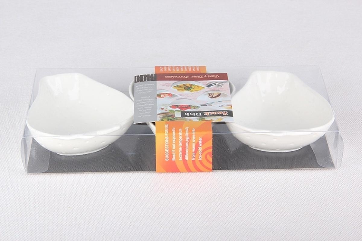 Салатник Коралл 951815, белый, диаметр 11 см, 3 шт цена