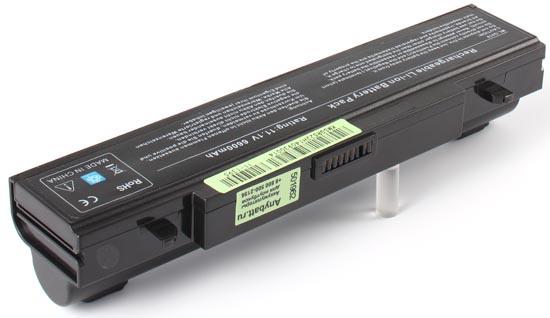 Аккумуляторная батарея AnyBatt, 11-1395, 6600 мАч 9 cell 7800mah laptop battery for samsung r718 r720 r728 r730 r780 rc410 rc510 rc710 rf411 rf511 rf512 rf711 rv409 rv520 x360