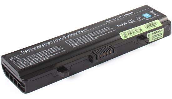 Аккумуляторная батарея AnyBatt, 11-1548, 4400 мАч extended life 12 cell battery for dell inspiron 1440 1525 1526 1545 1546 1750 gw240