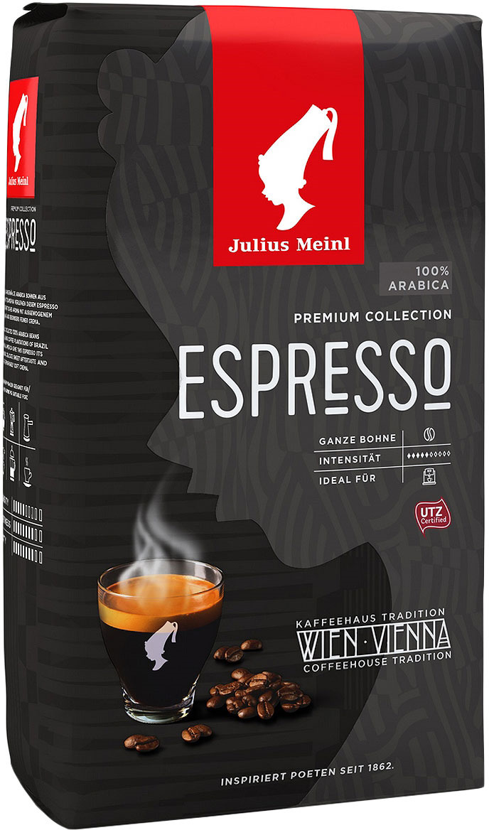 Фото - Кофе в зернах Julius Meinl Эспрессо Премиум коллекция, 1 кг кофе в зернах julius meinl эспрессо 1 кг