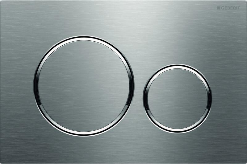 цена на Кнопка для инсталляции Geberit Sigma 20, для унитаза, 115.882.SN.1, стальной