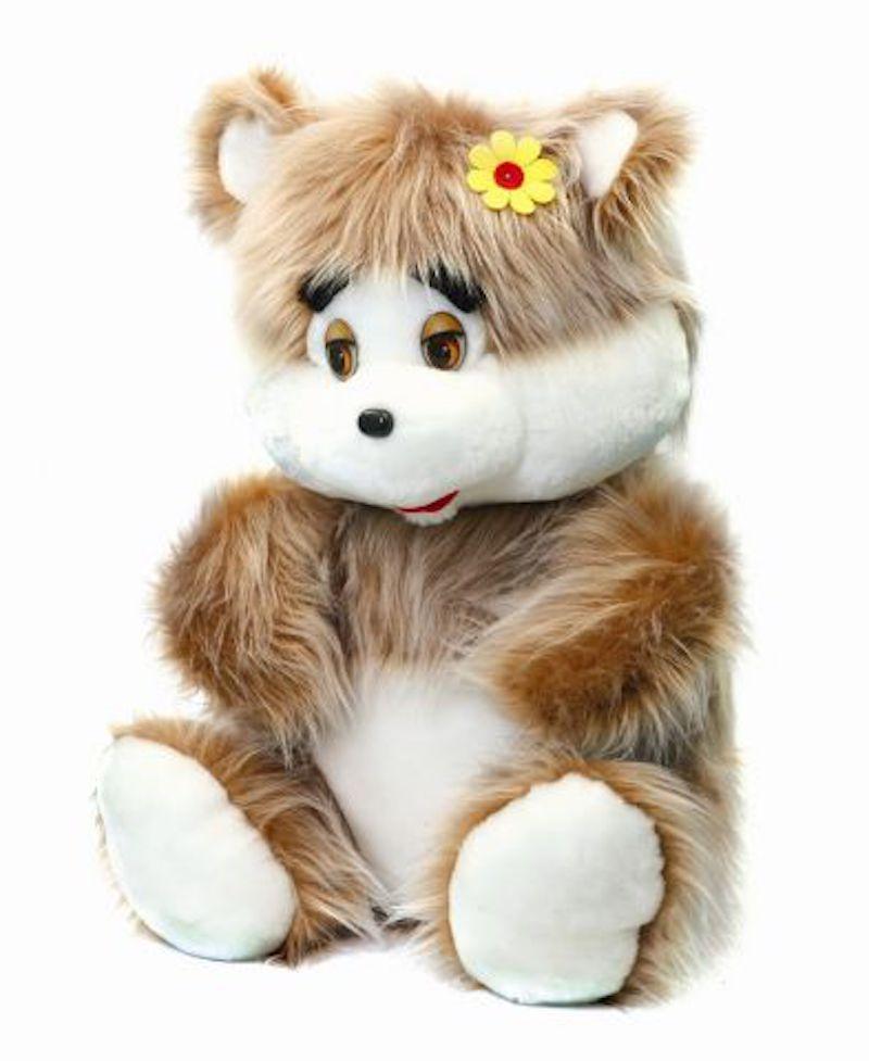 Мягкая игрушка Аймид Медведь коричневый 75 см 310 коричневый